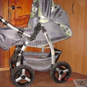 Продам детскую коляску зима-лето Adamex Saturn. Б/у