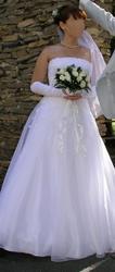 Продам свадебное платье. Белое.